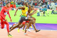 Usain Bolt- the fastest man in the world. BOLT blazes to 9.63 seconds in Olympic 100m Final