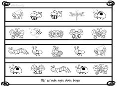 Symmetry Activities, Coloring Pages For Kids, Worksheets, Preschool, Butterfly, Handmade, Insects, Learning, Activities