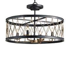 Harlequin Cage Ceiling Lantern