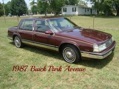 Reduced for quick sale 1987 Park Ave - $2950 (Mt.Juliet, TN)  Date: 2012-06-12, 8:40AM CDT  dd9qs-3072776855@sale.craigslist.org 1987 Buick Park Avenue...This car is like a time capsule and drives like a dream...Loaded with every option. 3800 3.8 V-6. 89,000 original miles. Elderly owned since new.. Cold A/C. super clean. I bought this car from an estate sale because it was so pristine. Have all documentation with clear TN title. This car is like a time