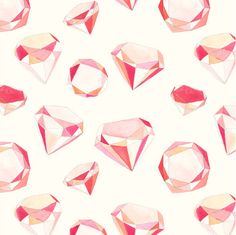 #Diamond Illustration by Amy Borrell #amy_borrell http://www.cakewithgiants.com/PATTERNS #pattern