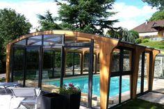 Un nuevo look para tu cubierta alta de piscina. Te presentamos Aquahome, de Abrisud. ¿Lo pineas?