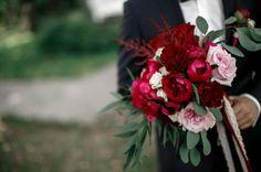 Свадьба в цвете Марсала Евгении и Олега