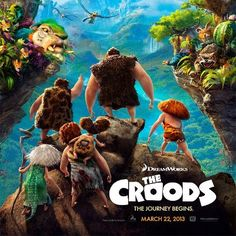 New Trailer: 'The Croods'- Chris Sanders and Kirk Demicco Collaborate