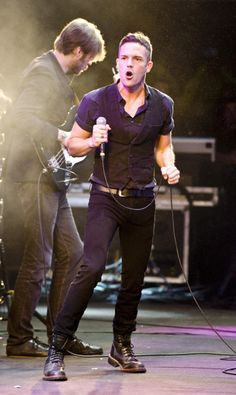 brandon flowers (NEED to see them live in 2012. It's a must)