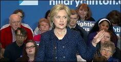 Hillary Clinton Delivers Speech in Iowa; January 2016