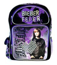 Justin Bieber Large Backpack - Bieber Fever Backpack