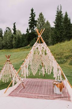 Event Rental Works and the Fairmont a few Boho ideas