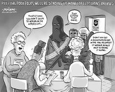 Canadians volunteer in Iraq elections