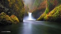 Punch Bowl Falls by Jarrod Castaing on 500px