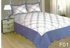 Cuvertura de pat bumbac satinat.