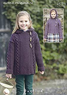 Amazon.co.uk : girls knitting patterns Knitting Patterns Uk, Baby Cardigan Knitting Pattern, Coat Patterns, Duffle Coat, Knitted Coat, Knitting For Kids, Long Shorts, Mantel, Knit Crochet