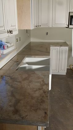 microtopping concrete overlay floor with eco-satin | great