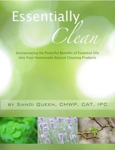 """Make your own natural cleaning products using essential oil recipes from """"Essentially Clean"""" (review + 25% off ebook!) 