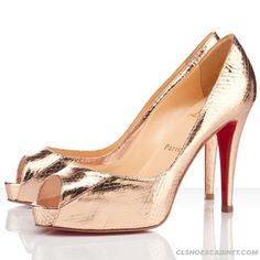 christian louboutin glitter embellished Very Prive slingback ...