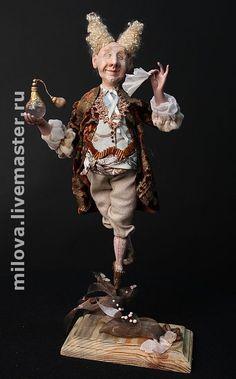 Купить Королевский Парфюмер, кукла коллекционная - кукла, Авторская парфюмерия, духи, интерьерная кукла