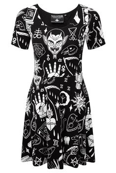 Wicked Skater Dress [B] работа, девушка, рубеж, австралия, турция, сша, америка, граница http://escort-journal.com/