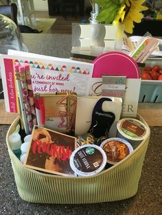 Deployment survival kit for military wife