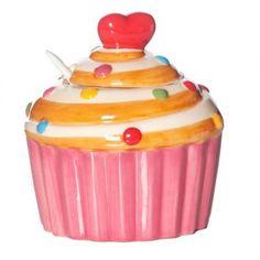 Acucareiro ceramica sweet cup cake bland - Westwing.com.br - Tudo para uma casa com estilo