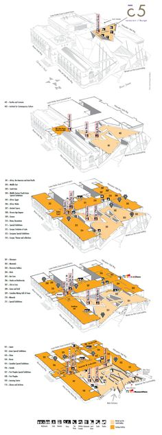 diagram and floor plan w/iconography merged into one
