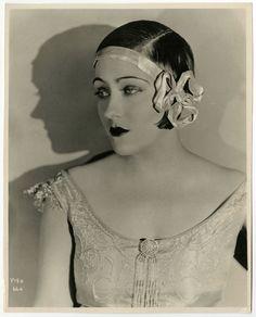 Vintage 1920s Gloria Swanson Masterful Flapper Photograph Jazz Age Fine Art Deco