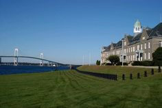 US Naval War College -  established on October 6, 1884, and its first president, Commodore Stephen B. Luce - Newport, Rhode Island