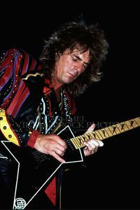 judas priest concert posters | Glenn Tipton Judas Priest Photo 8x12 or 8x10 inch Live Concert from ...