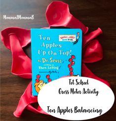 Ten Apples up on Top - Dr. Apple Activities, Motor Activities, Apple Life Cycle, Apple Unit, Unit Plan, School Themes, Tot School, Gross Motor, Life Cycles