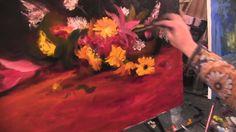 Букет цветов. Видео урок живописи от И Сахарова