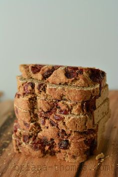 Cinnamon Craisin Swirl Bread (Low-fat, Sugar-free, THM:E)