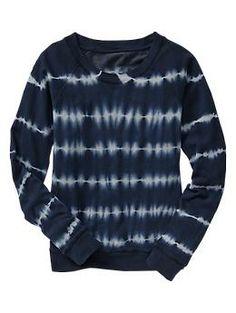 Tie-dye sweatshirt   Gap