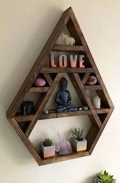 Chakra large crystal display shelf crystal display shelf crystals Bhuda … – Famous Last Words