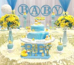 My Little Angel Decorations U0027s Baby Shower / Rubber Duckies   Photo Gallery  At Catch My Party