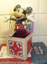 WALT DISNEY SHOWCASE COLLECTION TRADITIONS MICKEY MOUSE JACK IN THE BOX 4027950