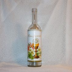 Darčeková fľaša Pánu farárovi ku krstu