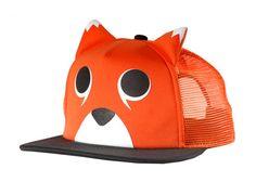 e06cb8a7fe0 Neff Animal Cap - Fox (orange   black) Surf Accessories