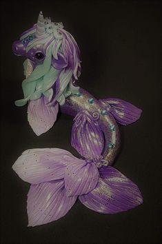 Polymer Clay Unicorn Mermaid Fimo Einhorn  https://m.facebook.com/story.php?story_fbid=2038001862880559&id=1557739197573497