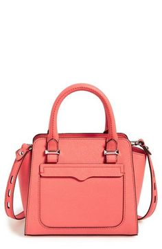 Rebecca Minkoff 'Micro Avery' Leather Tote available at #Nordstrom