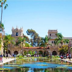 Exploring like a local in beautiful  Balboa Park.