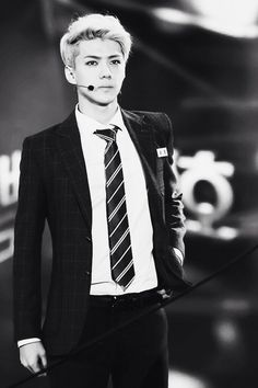 Sehun! He is absolutely gorgeous