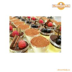 Dessert Lady offers over the top dessert table service to make it a fantastic talking point among your guests.