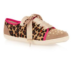 French Sole Animal  Ponyhair Ballet Flats