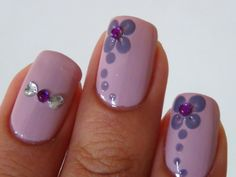 Simple+Nail+Art+Designs+For+Short+Nails | cute nails nail art nail designs pink…