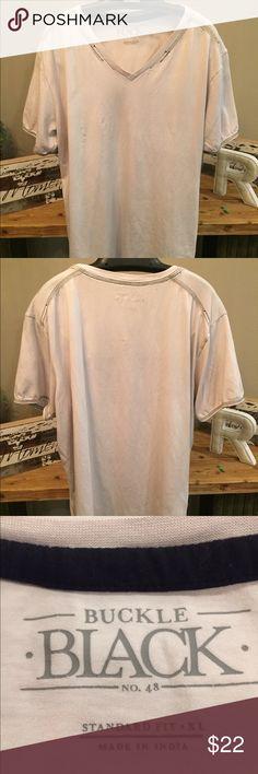 Buckle v-Neck t-shirt No. 48 Standard Fit - XL Buckle Shirts Tees - Short Sleeve