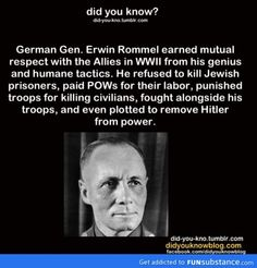 Luftwaffe, World History, World War, Ww2 Facts, Erwin Rommel, Wtf Fun Facts, Random Facts, Crazy Facts, Freedom Quotes
