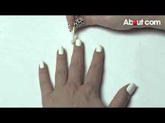DIY Cheetah Nail Art Video #Manicure #NailArt
