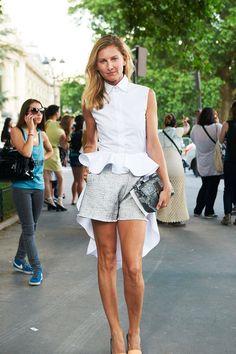 Elena Perminova Shop Similar Top: Topshop AMAR DAVED 5 of 108