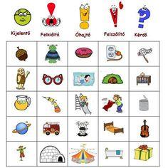ÍGY GYAKOROLJUK A MONDATFAJTÁKAT! - tanitoikincseim.lapunk.hu Dysgraphia, Busy Bags, Creative Teaching, Bingo, Grammar, Einstein, Literature, Playing Cards, Language