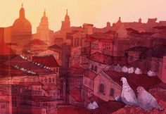 Roofs on Behance