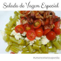 Delicinhas e Coisinhas: Salada de Vagem Especial #umareceitanovapordia #di...